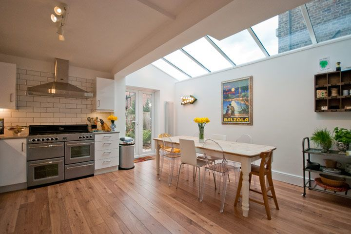 Victorian cottage brick and glass extensio google search for Cottage kitchen extensions