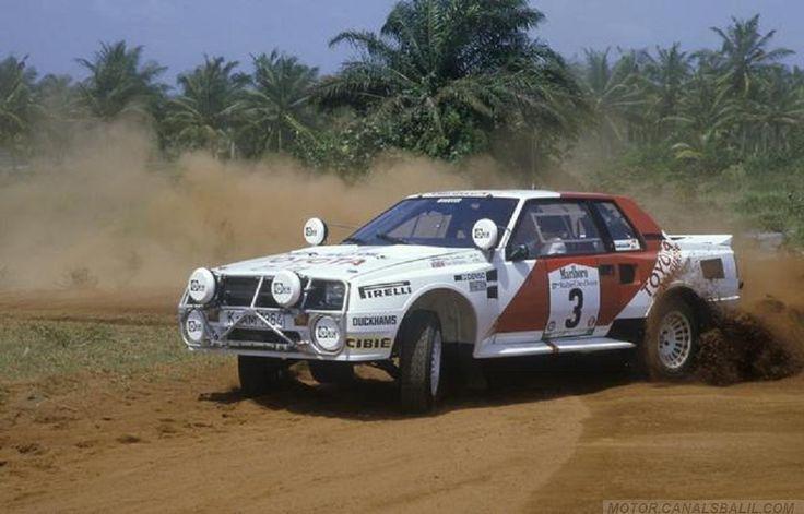 ra Juha Kankkunen - Fred Gallagher-17º Rally Costa de Marfil 1985. Toyota Celica Twincam Turbo (TCT). Clasificado 1º.