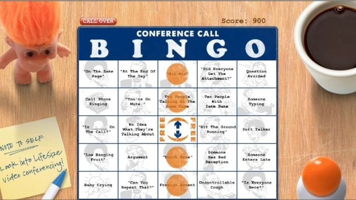 #impossible #conference #conference #online #bingo #bo
