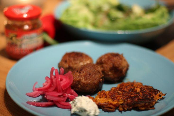 En variant på klassiska köttbullar med Ungersk touch. Gott gott gott!  #köttbullar #mat #köttfärs #food