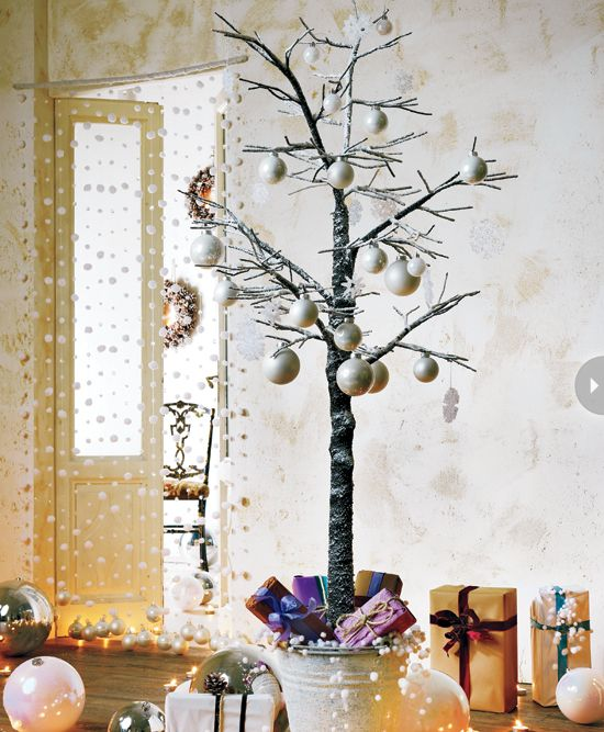 Bare Twig Christmas Tree