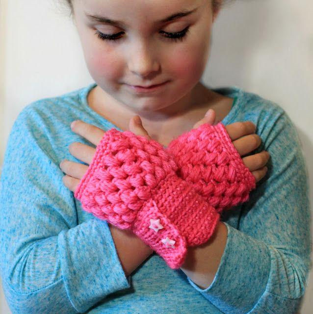 Two Fingerless Gloves Crochet Patterns {Fits ALL Sizes} via Hopeful Honey: