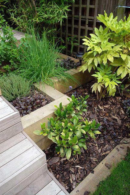 modular garden raised sleeper beds