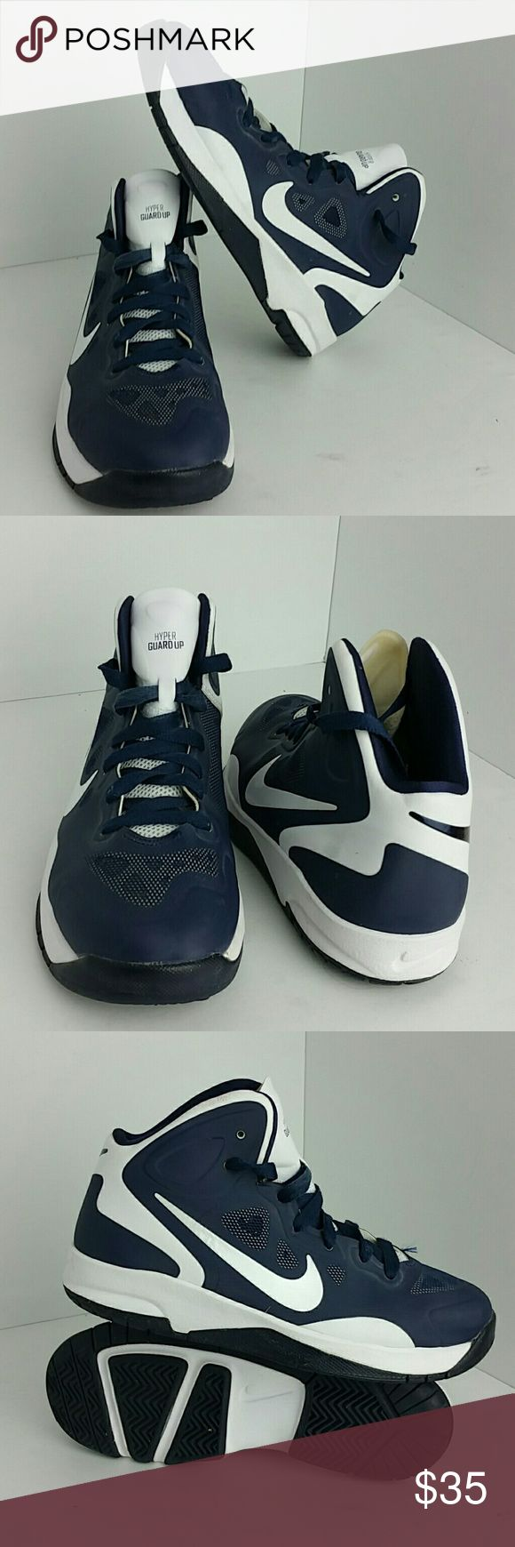 NIKE HYPER GUARD UP WOMEN/YOUTH SHOES VERY CLEAN INSIDE-OUT THIS IS A YOUTH SIZE 4.5Y WHICH IS WOMEN SIZE 6 SKE # BK NIKE Shoes Athletic Shoes