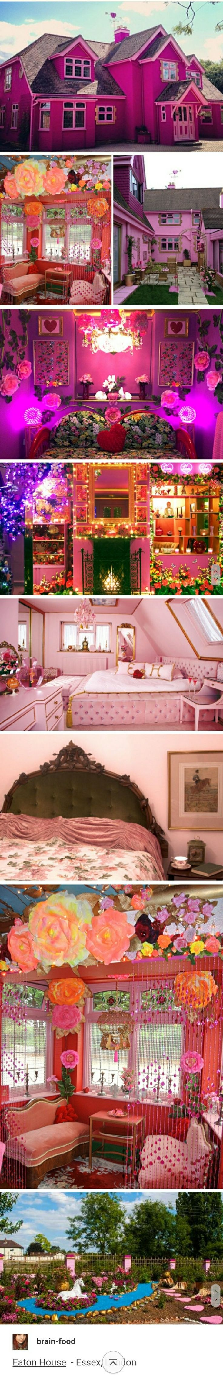 Barbie house with Victorian, fantasy, and Indian themes