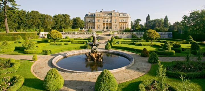 Luton Hoo, Bedfordshire England, where Merrie England was presented in 1953.