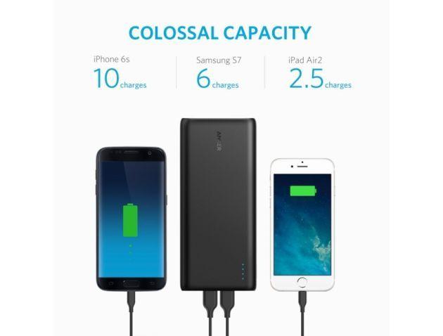 アンカー・ジャパンはモバイルバッテリーの新製品として、『Anker PowerCore 26800』を発売しました。バッテリー容量が2万6800mAhと大きく、iPhone 7を10回以上充電できるとしています。Amazon.co.jpで販売中で、価格は税込5999円(10月18日現在のAmazonでの販