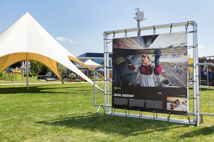 Ook deze fototentoonstelling was te zien op het fairstival