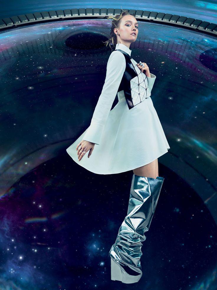 Gemma Ward by Emma Summerton for Vogue Australia December 2014
