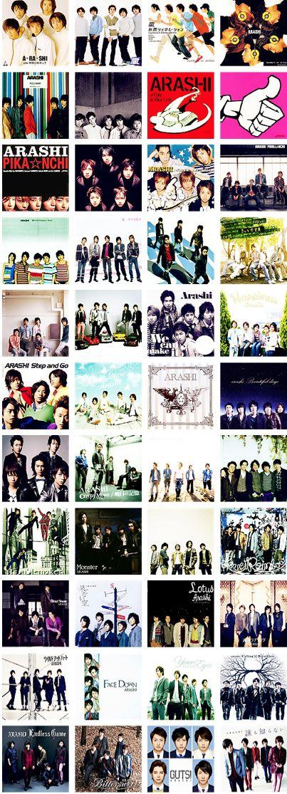 Arashi Discography [1999-2014]