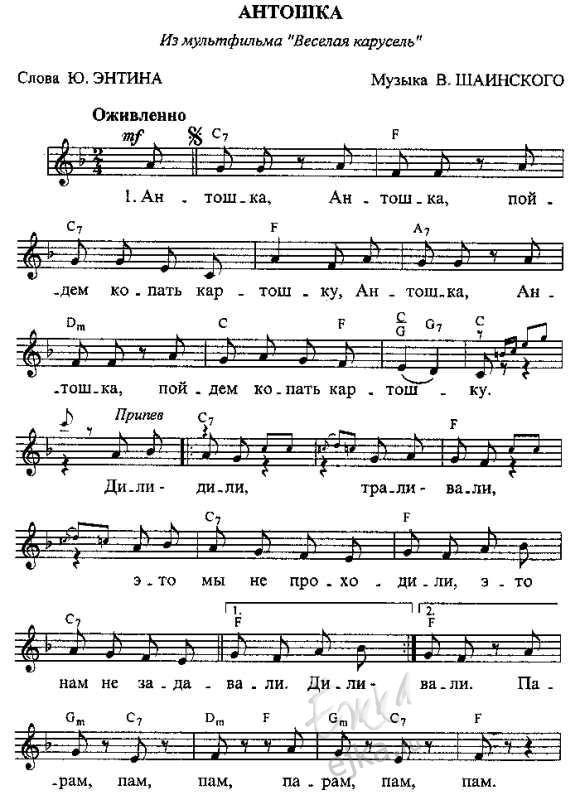 Ноты красивых мелодий для фортепиано aDo