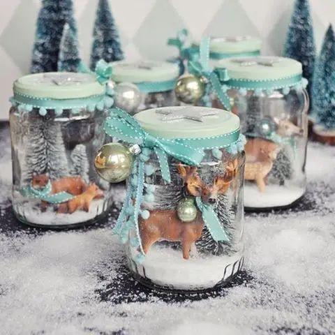 19. Dezember: Let it snow! Schneekugeln selber machen