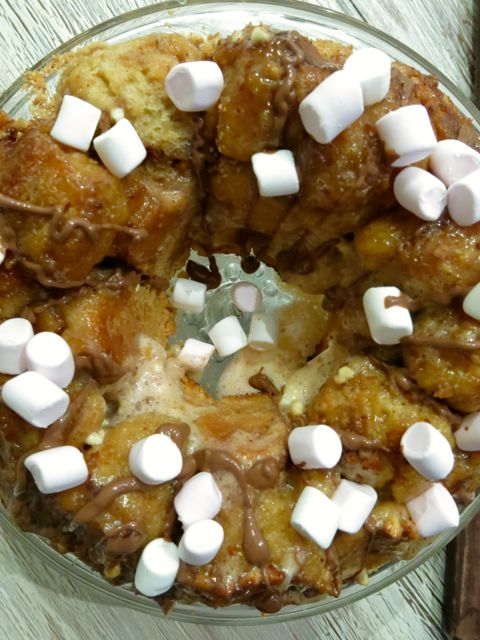 miss massi // s'mores monkey bread