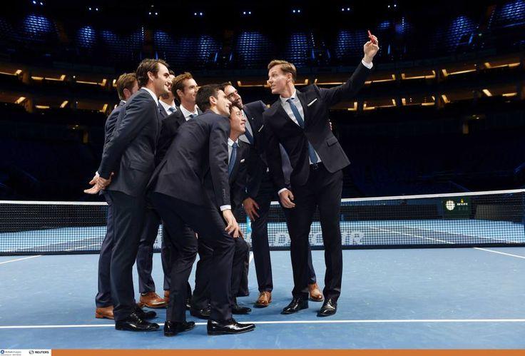 2014 ATP Finals #djokovic #federer #wawrinka #berdych #cilic #raonic #nishikori #murray #tennis #atpfinals