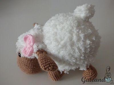 Patrón Oveja Amigurumi / Sheep Amigurumi Pattern