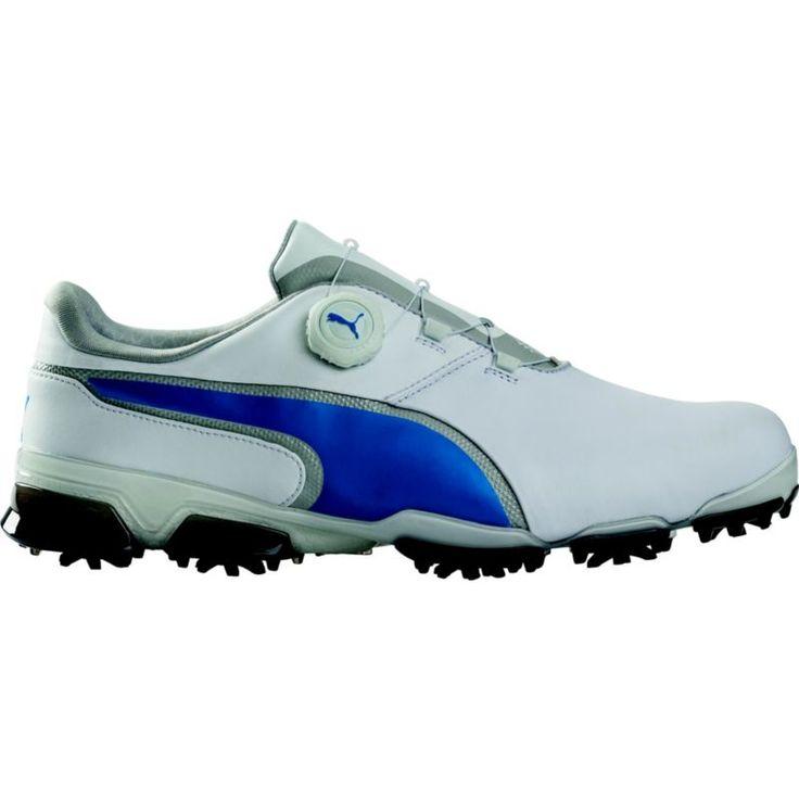 Puma Titantour Ignite Disc Golf Shoes, Men's, White