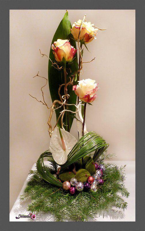 207 best bouquet noel images on pinterest floral. Black Bedroom Furniture Sets. Home Design Ideas
