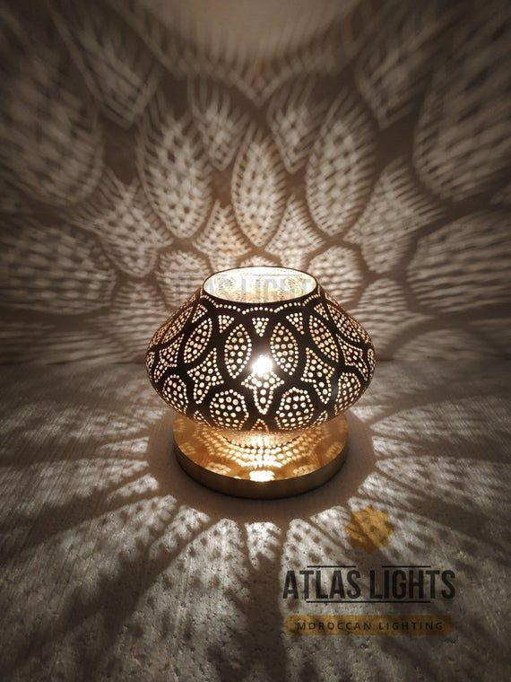 Table Lamp Moroccan Lamp Table Handmade Brass Lamps Style