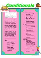Conditional Clauses worksheet - Free ESL printable worksheets made by teachers