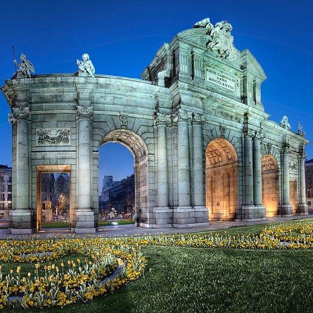 Puerta de Alcalá in Madrid, Madrid