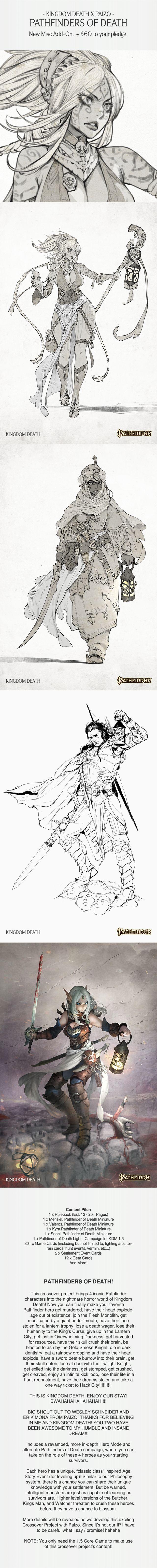 Kingdom Death: Monster 1.5 by Kingdom Death — Kickstarter Awesome Mark from Phantom's destruction