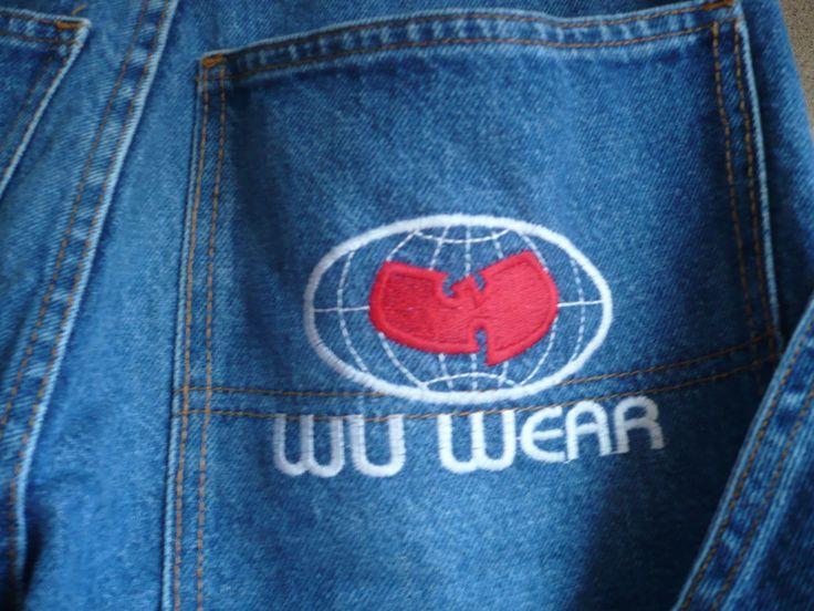WU WEAR Vintage Wu-Tang Clan Hip Hop Vintage Pants - WU WEAR Genuine - genuine clothes
