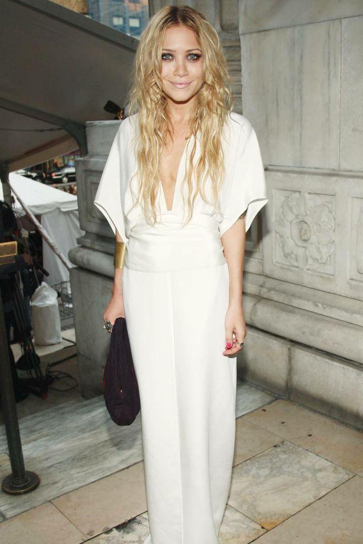 white dresses- yes.  long v + tunic dress- yes