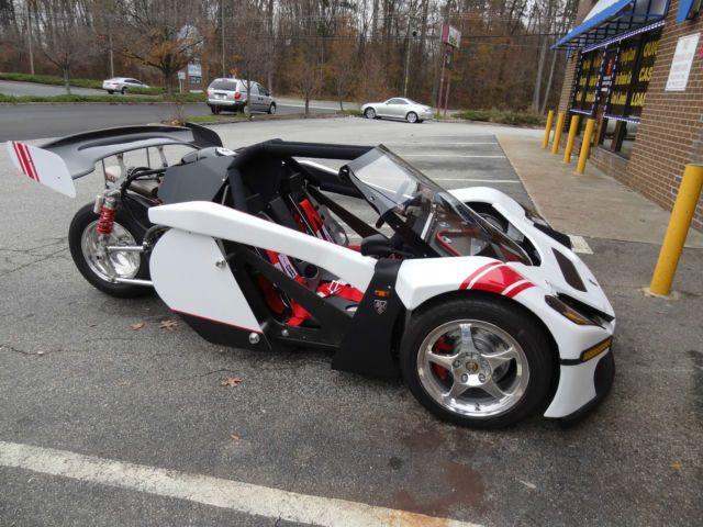Custom Reverse Trike *Honda* Like T-Rex Campagna *MUST SEE*