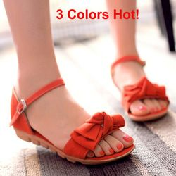Younkers Red Flat Shoes