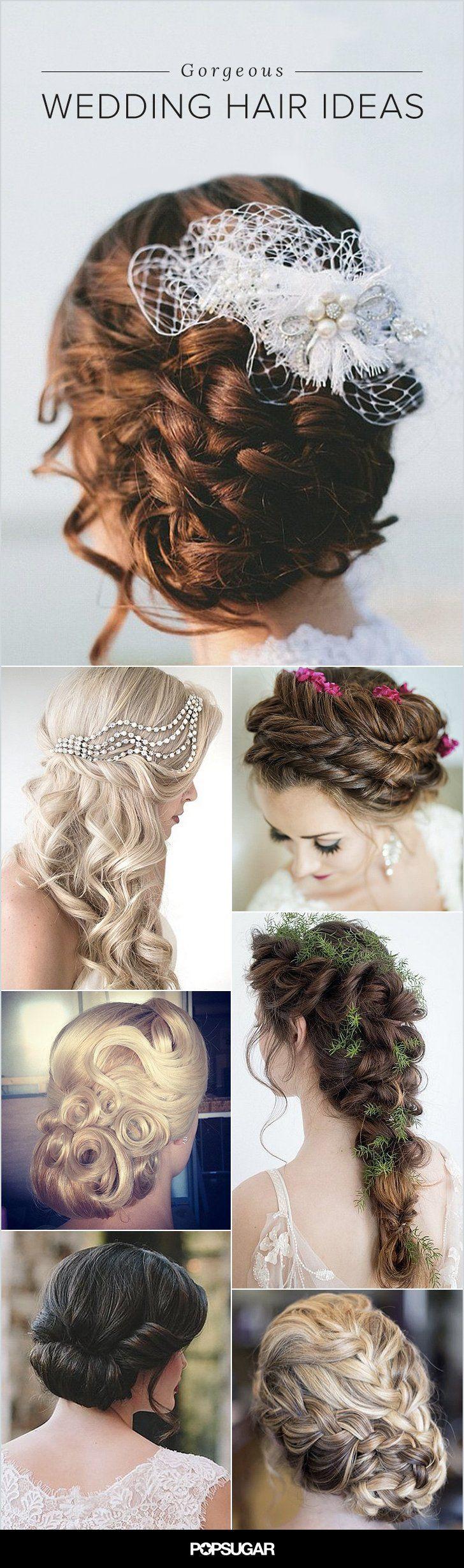 Pin for Later: 40 traumhafte Frisuren für Winter-Hochzeiten