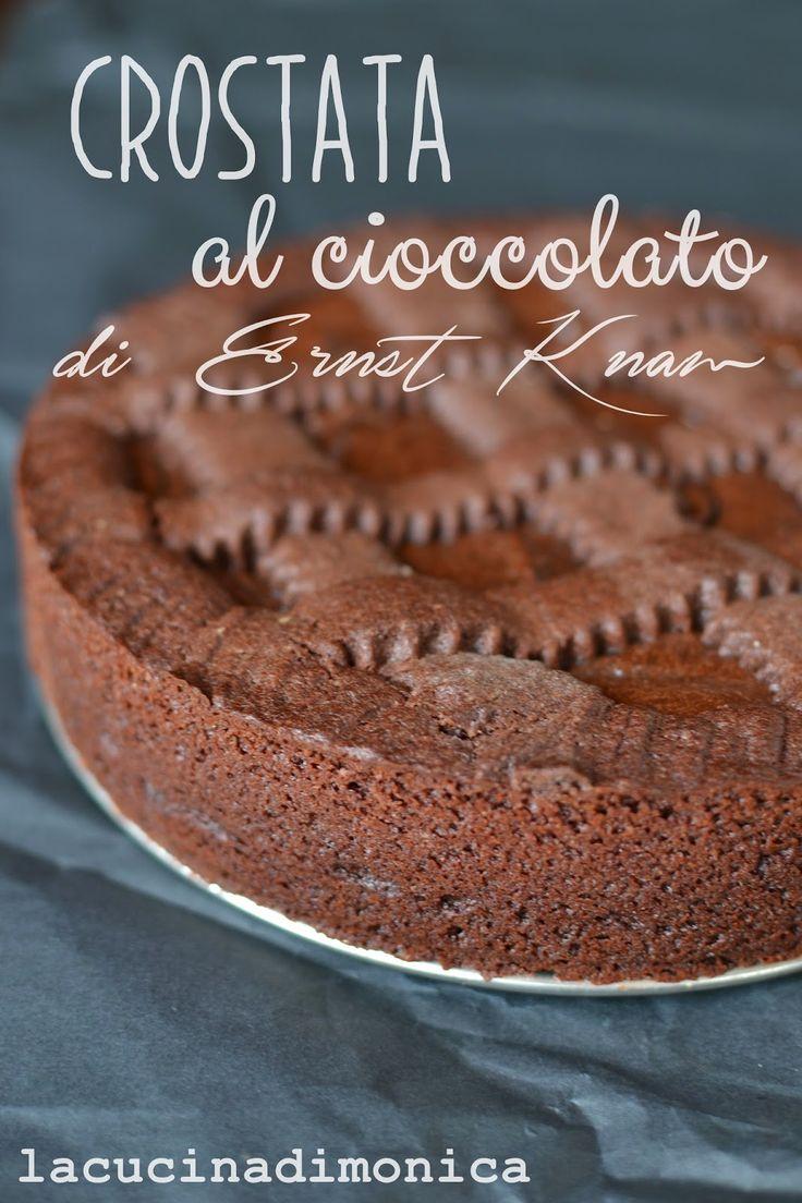 lacucinadimonica: crostata al cioccolato - ricetta di Ernst Knam