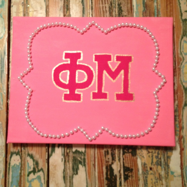 Phi Mu love for my future little :)