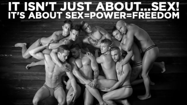 It isn't just about ...sex! It's about SEX = POWER = FREEDOM / Designer Andrew Christian invites you to be part of his new collectors edition coffee table books. / There will be two books a Silver edition that will be available for sale in December and a very Limited Gold edition that will only be available...