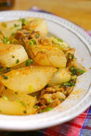 フライパンで出汁入らず!豚バラ肉と大根の味噌炒め煮のレシピ☆