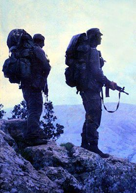 """The South African Special Forces Brigade, Nickname """"Recces""""."""