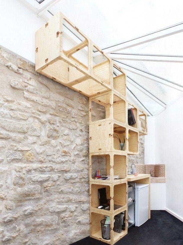 Le Cube by AR, projet de mobilier ludique imaginé par le studio d'architecture AR - Journal du Design
