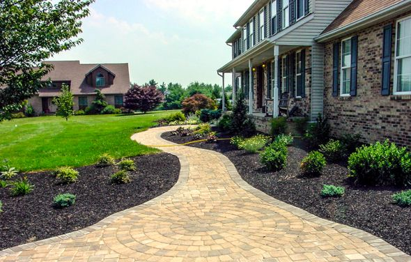 1000 images about driveway landscaping and curb appeal ideas on pinterest its always cabin. Black Bedroom Furniture Sets. Home Design Ideas