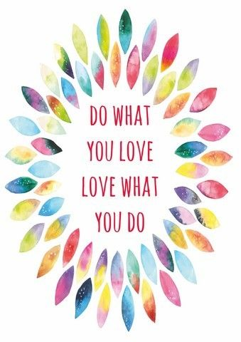 """""""Do what you love. Love what you do."""" --- When you do things with LOVE, you do it with GOD and that's why you'll see better result than you do it without LOVE (GOD). God is Love. #happy #life #quote #quotes"""