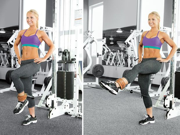 back exercises using cable machine