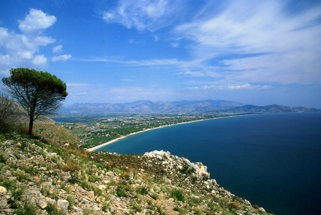 Terracina (LT) - view from the Temple of Jupiter Anxur,