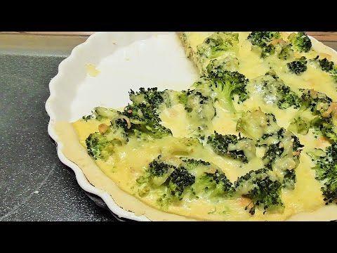 Broccoli tarte mit Hähnchen - YouTube