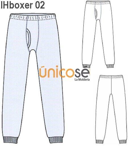 Bajo la pijama calzon blanco - 3 10