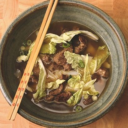 Beef noodle soup. For the full recipe, click the picture or visit RedOnline.co.uk