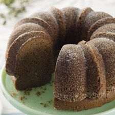 Cappuccino Coffee Cake. Topping: espresso powder, granulated sugar. Cake: coffee liqueur, espresso powder, milk. King Arthur Flour