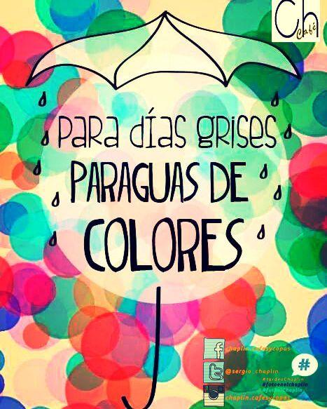 Menudo día de #lluvia chicos!!!! y encima #lunes!!! no hay que desanimarse y comenzar la semana ATOPEDEPOWER