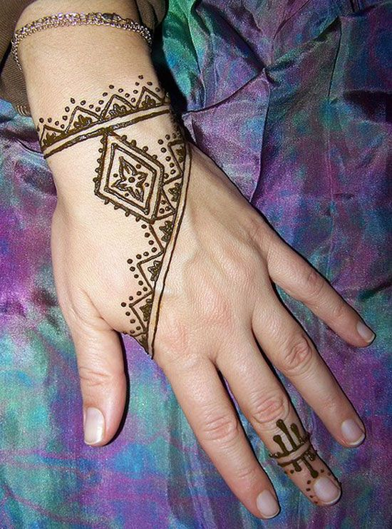 30 Easy & Simple Mehndi Designs & Henna Patterns 2012 | Henna Tattoo For Beginners | Girlshue