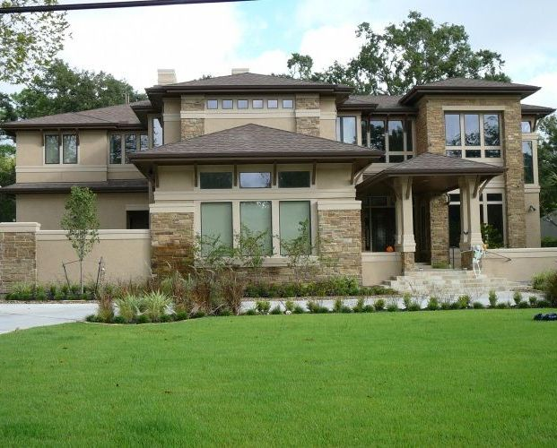 48 best craftsman style images on pinterest home ideas for Craftsman prairie style house plans