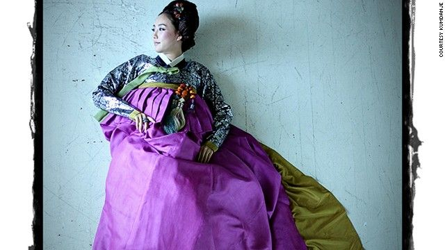 Long in the shadow of the kimono and cheongsam, the Korean hanbok is enjoying a revival in international fashion circles.