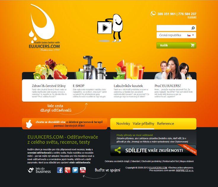 EuJuicers.com #webdesign
