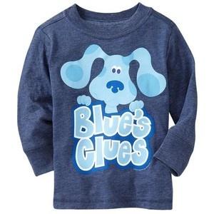 Blue's Clues Long Sleeve Shirt Size 4T  FREE SHIPPING!!! $13.95